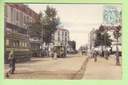 AUBERVILLIERS : Avenue Victor Hugo, Tramway Opéra Rue Du Moutiers. 2 Scans. Edition C L C - Aubervilliers