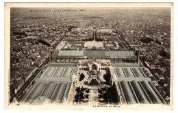 PARIS (75) - EXPOSITION UNIVERSELLE 1900 - Le Champ De Mars - Expositions