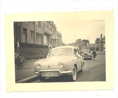 "Photo ( +/- 6 X 9 Cm)  - Automobile "" Dauphine"" Renault - Auto, Voiture - Oldtimer 1957 (b107) - Automobili"