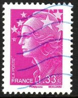 FRANCE YT 4237 Marianne De Beaujard 1.33 € Lilas - 2008-13 Marianne De Beaujard