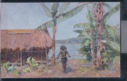 Papua-Neuguinea - Nach Einem Gemälde Von P. P. Müller - Kolonialkriegerdank - Papua-Neuguinea