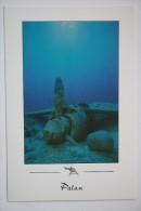 Palau - Japanese Zero Fighter In The Ocean - Old Postcard - Plane / Avion - Palau
