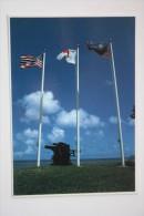 Guam Gaan Point Pacific Memorial Historical Park  - Old Postcard - Guam
