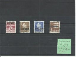 DINAMARCA YVERT  471/74  MNH  ** - Danemark