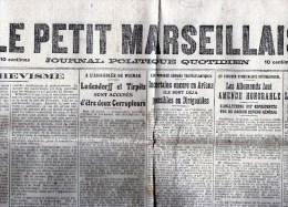 Mercredi 30 Juillet 1919 - Zeitungen