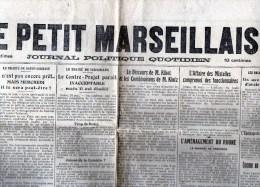 1er Juin  1919 - Journaux - Quotidiens