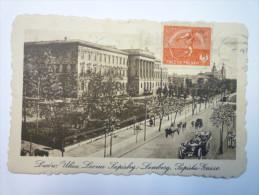 LWOW  :  Ulica Leona  SAPICHY  -  LEMBERG  -  SAPICHA-GASSE  1922    - Pologne