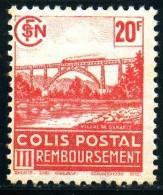 Frankreich  PM  Mi. 165  Dampflokomotive Auf Viadukt 1941 **/MNH - Trains