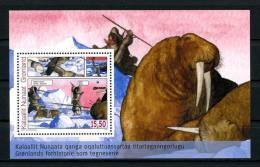 GROENLAND 2009  Bloc N° 44 ** Neuf = MNH Superbe Cote 7 € Animaux Bandes Dessinées Chiens Dogs Animals - Blocks & Sheetlets