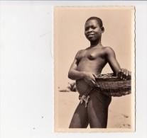 """CP Photo Fille De Pêcheur à Cotonou """"collection G. Labitte - Dahomey"""