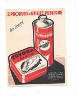 Beau BUVARD Produits TUVORA à JOUE LES TOURS (37) - Buvards, Protège-cahiers Illustrés