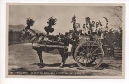 90121  PALERMO  -  CARRETTO SICILIANO E COSTUMI DEL POPOLO   ~ 1930 - Unclassified