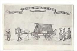 13849 -  Payerne Le Comité Des Masques Janvier 1919 Litho (Etat Moyen) - VD Vaud