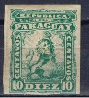 PY+ Paraguay 1879 Mi 8 Mlh Wappenlöwe - Paraguay