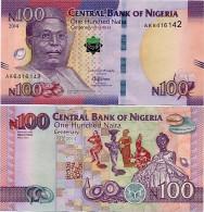 NIGERIA       100 Naira     Comm.       P-New       2014       UNC - Nigeria