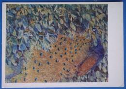 3080 Larionov. Peacock - Paintings