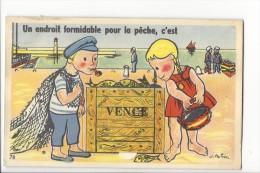 13852 -  Vence Un Endroit Formidable Pour La Pêche C'est Vence Carte à Système - Vence