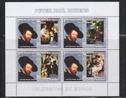 Congo 2006 Peter Paul Rubens M/s PERFORATED ** Mnh (26941) - Dem. Republik Kongo (1997 - ...)