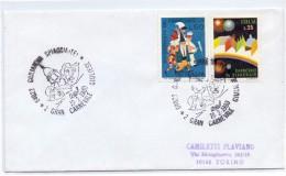 GIULIANOVA SPIAGGIA  CARNEVALE 1980  COVER  CARNIVAL GIULIANOVA  BEACH    (G160236) - Carnevale