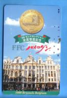 Japan Japon  Telefonkarte T�l�carte Phonecard Telefoonkaart    Belgium Brussels