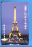 Japan Japon  Telefonkarte T�l�carte Phonecard Telefoonkaart   France Frankreich Paris