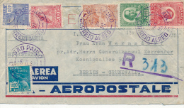 SAO PAULO - 1932 , Brief Nach Berlin - Posta Aerea