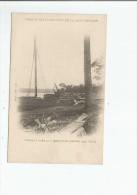 CHEMIN DE FER ET PORT DE LA COTE D'IVOIRE 21 CHALAND A VOILE POUR TRANSPORT DE MATERIEL (MAI 1904) - Côte-d'Ivoire