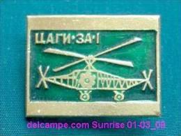 Soviet Helicopter Autogyro TsAGI - 3A-1 / Soviet Badge 01-03_1038_09 - Avions