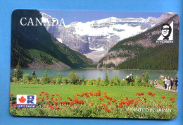 Japan Japon  Telefonkarte T�l�carte Phonecard Telefoonkaart  Canada Kanada