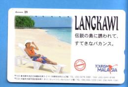 Japan Japon  Telefonkarte T�l�carte Phonecard Telefoonkaart  Malaysia