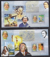 Congo 2006 Salvador Dali 2 M/s PERFORATED ** Mnh (F4969) - Democratische Republiek Congo (1997 - ...)