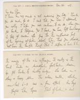 Bilton Grange, Rugby & Stowe School Buckingham & Australia, Queensland 5 Letters From Brothers Reverends Earle 1918-1924 - Autographs