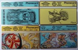 PAPUA NEW GUINEA - L&G - 4 Cards - 301B - Mint