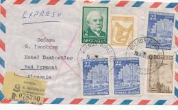 BUENOS AIRES - 1965 ,  R-Brief Nach Bad Pyrmont - Argentinien