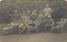 HOPITAL AUXILIAIRE N°4 - Département Rhône Dans Le Séminaire De Francheville Le Bas.carte Photo. - Weltkrieg 1914-18