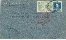 BUENOS AIRES -  1932 , 2. Südamerikafahrt  , An 13.4.32  Friedrichshafen , Brief Nach Hamburg - Argentinien