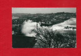 CARTE-PHOTO ANGLETERRE SCILLY ISLES STORM - Scilly Isles