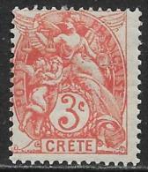 La Crète Neufs Avec Charniére, No: 3, Y Et T,  MINT HINGED - Crète (1902-1903)