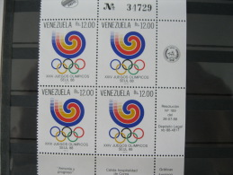 Venezuela-Seoul Olympics 1988  SC#1420 MI# 2551 - Ete 1988: Séoul