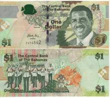 BAHAMAS   1 Dollar    P71a   1 Letter Prefix   2008     UNC - Bahamas
