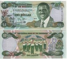 BAHAMAS   1 Dollar    P69a    2001    UNC - Bahamas