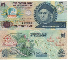 BAHAMAS   1 Dollar    P50    Commemorative Issue-Cristobal Colombus    1992    UNC - Bahamas