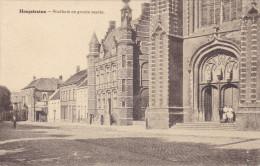 Hoogstraten Stadhuis En Groote Markt - Hoogstraten