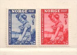 NORVEGE  ( D17 - 2341 )  1950  N° YVERT ET TELLIER  N° 320/321    N** - Nuovi