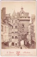 S-  LOCHES EN INDRE ET LOIRE  HOTEL DE VILLE  COLLECTION MONUMENTS HISTORIQUES  EDT  YVON FORMAT 16.5 X 10.5  VOIR VERSO - Oud (voor 1900)