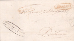 Italy 1831 Letter From Trapani To Partanna - Italy