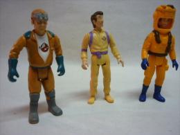 Lot De 3 Figurines GHOSTBUSTERS ( Voir 2 Photos Et Descriptif ) - Ghostbusters