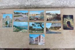 LOTTO 9 CARTOLINE FORMATO CLASSICO DI AUGUSTA, PROVINCIA SIRACUSA, CITTà PORTUALE - Siracusa