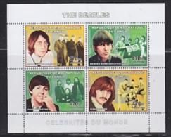 Congo 2006 The Beatles  M/s PERFORATED ** Mnh (26941F) - Democratische Republiek Congo (1997 - ...)