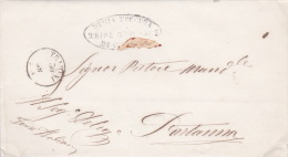 Italy 1868 Letter From Trapani To Partanna - Used